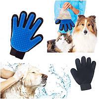 Перчатка для Снятия Шерсти с Животных Pet Brush Glove