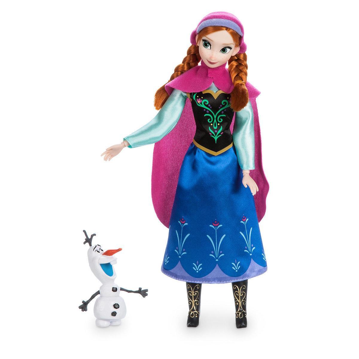 Анна Холодное сердце классическая кукла принцесса ДИСНЕЙ / DISNEY