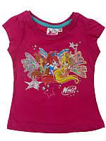 Красивая детская футболка 128 см