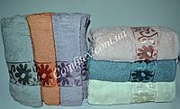 Набор махровых банных полотенец Ozkurt b-06 Хлопок 70х140 (6шт.) - Турция