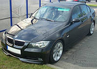 НАКЛАДКА ПЕРЕДНЕГО БАМПЕРА BMW E90 (2005-2008) ДВЕ ЧАСТИ, фото 1
