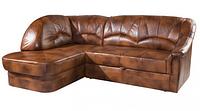 Кожаный угловой диван Yardek (220х170 см)