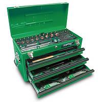 Ящик с инструментом 3 секции 99 ед.  TOPTUL GCAZ0038