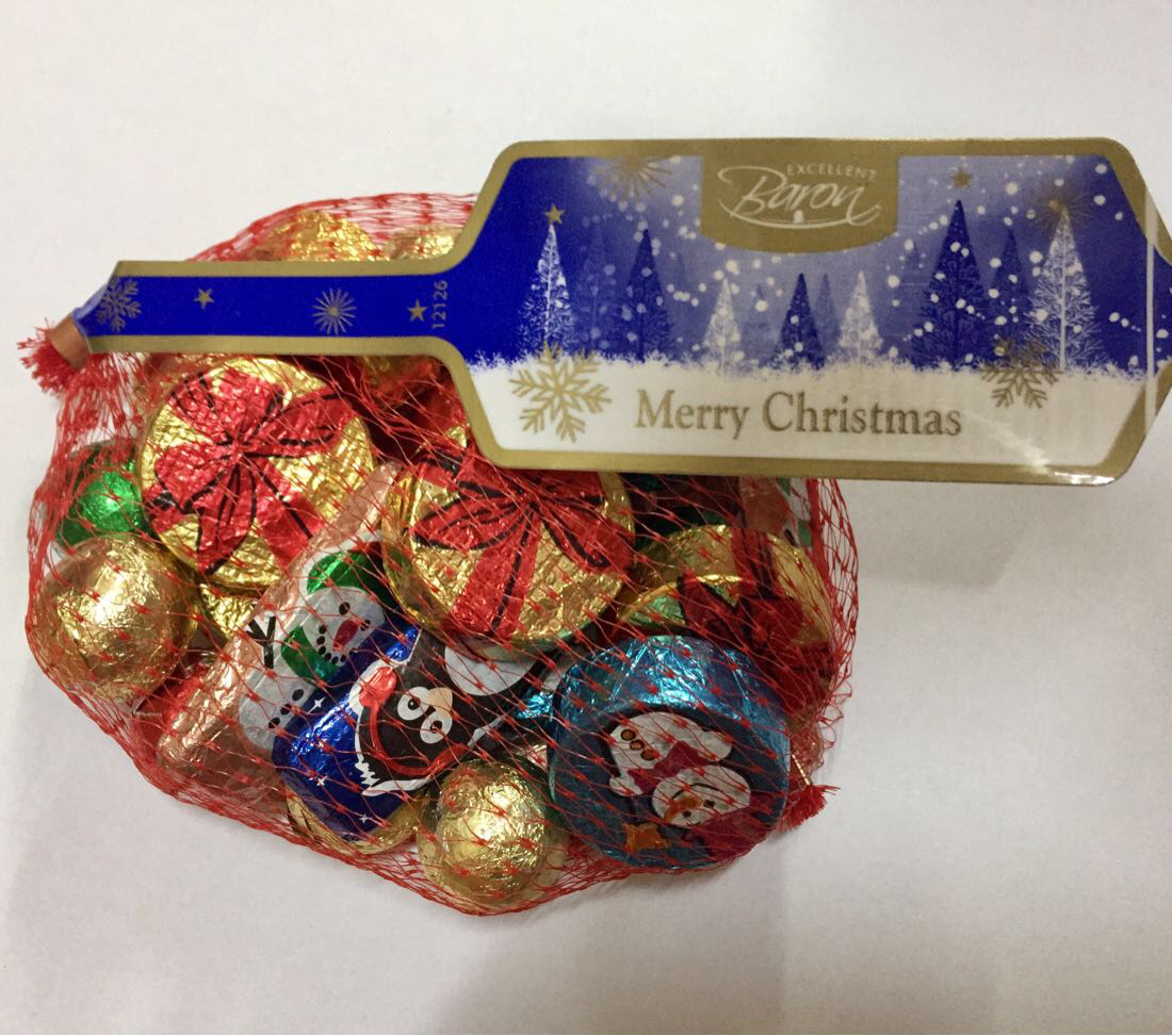 Конфеты Baron 150г Excellent Merry Christmas