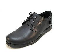 Туфли мужские Tristan кожаные черные (р.41,42)