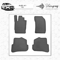 Резиновые коврики Audi A1 2010- комплект 4 шт.