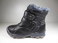 Ботинки для мальчиков зимние Kellaifeng кожаные Размер: 36