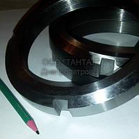 Гайка круглая шлицевая М140х2 ГОСТ 11871-88 производство ТАНТАЛ сталь 35