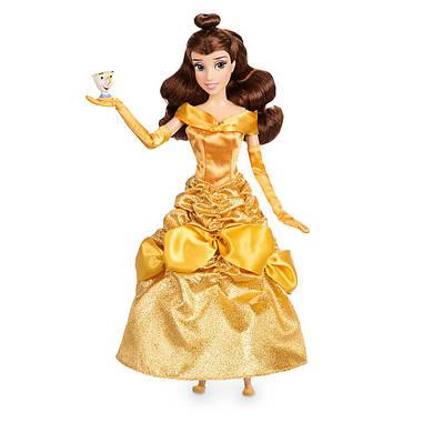 Белль красавица Дисней кукла принцесса с фигуркой Чипа/ Belle Beauty and the Beast doll Disney 2017