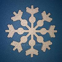 Снежинка из пенопласта SN-4 25*0,5 см уценка