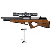 Пневматическая винтовка SPA P10 с насосом SPA и прицелом 4-16х50АОЕ