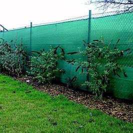Затеняющая сетка на забор