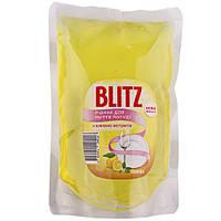 Засіб для миття посуду Blitz  запаска пакет лимон 500 мл