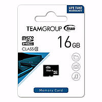 MicroSD HC (10) 16Gb Team