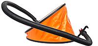 Ножной насос для лодок пвх 6 л, фото 1