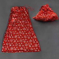 Новогодний мешок для подарков C22430