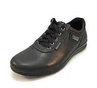 Туфли мужские Tristan кожаные черные (р.40)