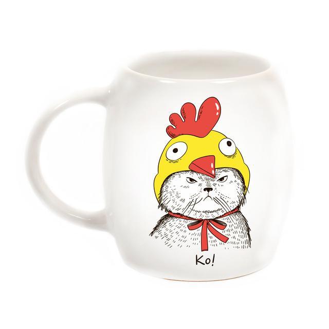 дизайнерская чашка кукарекот