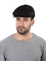 Кепка мужская зимняя комбинированная черная