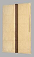 Римская штора лайн лён 09-04 кант 09-06 700*1700  изготовим по вашим замерам
