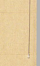 Римская штора лайн лён 09-04 кант 09-06 1600*1700  изготовим по вашим замерам    , фото 2