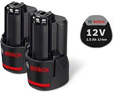 Аккумулятор Bosch 2 x GBA 12V 1.5Ah Professional