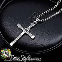 Подвеска кулон Крест Торетто из Форсажа ХИТ!!! крестик Форсаж