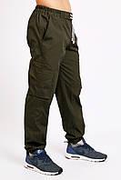 Штаны карго (cargo) мужские милитари олива Ястреб