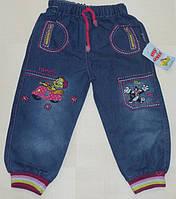 Детские джинсы для девочек 1,2,3,4 года