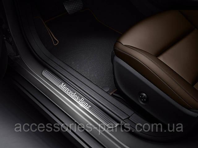 Накладки на пороги для Mercedes-Benz B-Class W246 Нові Оригінальні