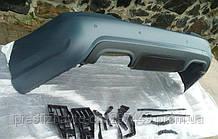Задний бампер AMG на Mercedes S-Сlass W221