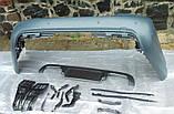 Задний бампер AMG на Mercedes S-Сlass W221, фото 2