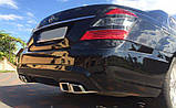 Задний бампер AMG на Mercedes S-Сlass W221, фото 6