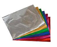 Набор цветной бумаги металлизированной (10листов/10цветов)