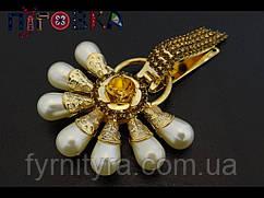 Кліпса шубна (шубний гачок) 033, gold