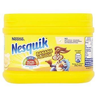 Напиток Nestle Nesquik Banana 300г банановый