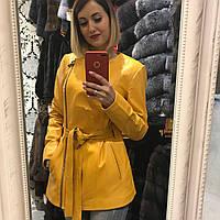 Куртка Удлиненная на Молнии Шанель под Пояс 003ДЛ