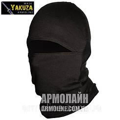 """Маска - балаклава """"YAKUZA"""" Чёрная (Армолайн)"""