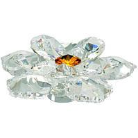 Ручка Ferretto Lotus серебро с кристаллами