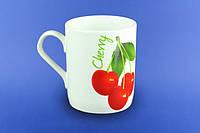 Чашка Офисная вишни