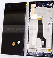 Дисплей с сенсором (тачскрином) Sony Xperia XA1 G3112/ G3121 (Black), 78PA9100100 оригинал