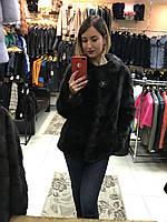 Полушубок Норковый Махагон Шанель  0414ЕИШ