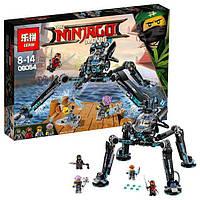 """06054 Конструктор Ninjago Movie Lepin (аналог Lego 70611) """"Водяной Робот"""" 528 дет."""