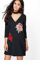 Платье для беременной с цветами Boohoo
