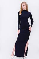 Платье длинное с разрезами 4893