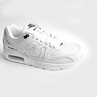 Кроссовки Nike Air Max белые white (36-41) (реплика) 0a44a35684ef6