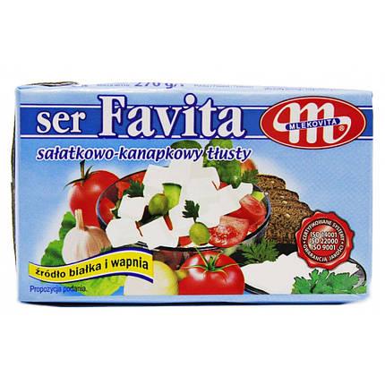 Сыр фета Mlekovita SER FAVITA 270g, фото 2