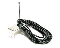 Антенна Faac 433 Мгц со скобой и коаксиальным кабелем 5м