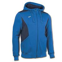 Олимпийка с капешоном синяя Joma COMFORT 100444.703( Толстовка,реглан )