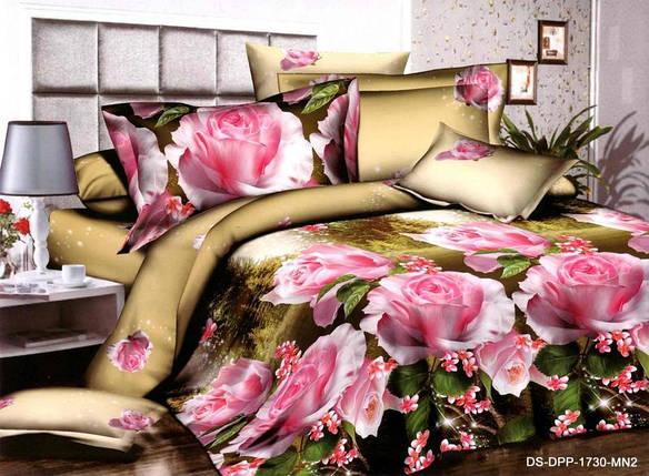 Полуторный набор постельного белья 150*220 Полиэстер №187 Черешенка™, фото 2